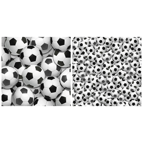 Scrappin Sports and More - Name of the Game Collection - 12 x 12 Double Sided Paper - Soccer