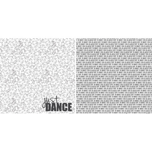 Scrappin Sports and More - Girls Rule Collection - 12 x 12 Double Sided Paper - Dance