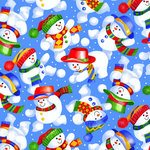 SugarTree - 12 x 12 Paper - Snowmen Fun