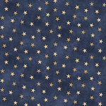 SugarTree - 12 x 12 Paper - Blue and Gold Stars