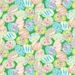 SugarTree - 12 x 12 Paper - Decorated Easter Eggs