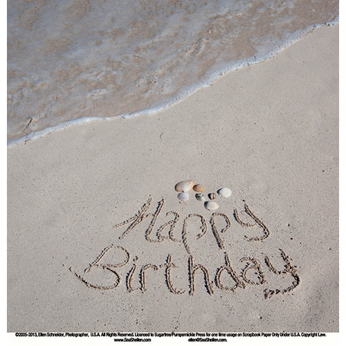 SugarTree - 12 x 12 Paper - Beach Birthday
