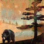 SugarTree - 12 x 12 Paper - Black Bear