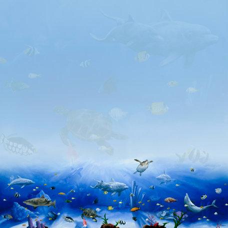SugarTree - 12 x 12 Paper - Undersea Life