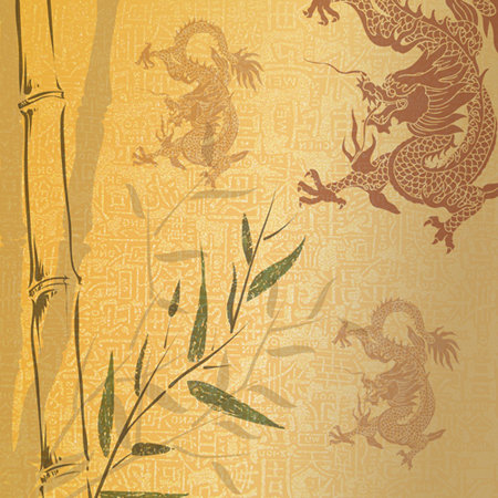SugarTree - 12 x 12 Paper - Oriental Mural