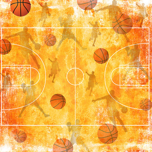 SugarTree - 12 x 12 Paper - Basketball