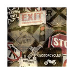 SugarTree - 12 x 12 Paper - Street Signs