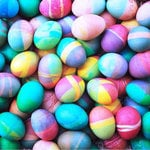SugarTree - 12 x 12 Paper - Multi-colored Eggs