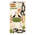Scrapworks - Magpie Collection - Adhesive Chipboard - Magpie, CLEARANCE