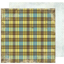 Scrap Within Reach - The Cottage Collection - 12 x 12 Double Sided Paper - The Loft, CLEARANCE