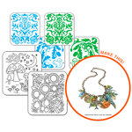 Sizzix - Vintaj - DecoEtch and DecoEmboss Folders Kit (Scrapbook.com Exclusive)