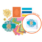 Sizzix - Moroccan Chipboard Stamp, Emboss and Die Kit (Scrapbook.com Exclusive)