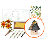 Sizzix - Susan's Garden Birdhouse Die and Tool Kit (Scrapbook.com Exclusive)