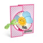 Sizzix - Stephanie Barnard - Hello Sunshine Flipits Card Kit