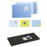 Sizzix - Movers and Shapers Kit - Die Cutting Template - Envelope, Note Card 4, CLEARANCE