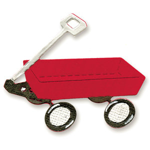 Sizzix - Sizzlits Die - Die Cutting Template - Small - Wagon