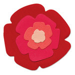 Sizzix - Originals Die - Die Cutting Template - Flower Layers