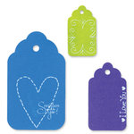 Sizzix - Originals Die - Die Cutting Template - Large - Scallop Tags Combo 2