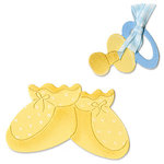 Sizzix - Originals Die - Die Cutting Template - Baby Booties and Pacifier, CLEARANCE