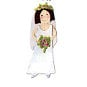 Sizzix - Sizzlits Die - Die Cutting Template - Medium - Bride 2, CLEARANCE