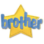 Sizzix - Sizzlits Die - Die Cutting Template - Small - Phrase - Brother