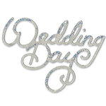 Sizzix - Sizzlits Die - Die Cutting Template - Medium - Phrase - Wedding Day