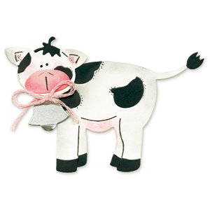 Sizzix - Originals Die - Die Cutting Template - Medium - Cow 2