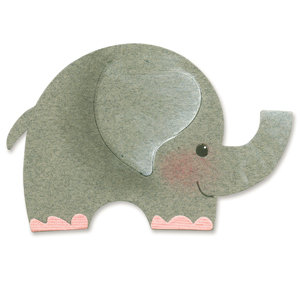 Sizzix - Originals Die - Die Cutting Template - Medium - Elephant 2