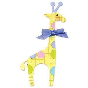 Sizzix - Originals Die - Die Cutting Template - Giraffe