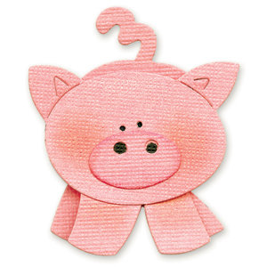 Sizzix - Originals Die - Die Cutting Template - Medium - Pig 2