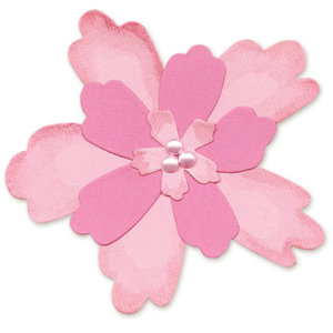 Sizzix - Bigz Die - Die Cutting Template - Flower Layers 4