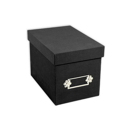 Sizzix - Originals Accessory - Large Storage Box - Black