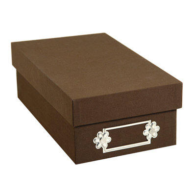 Sizzix - Originals Accessory - Small Storage Box - Brown
