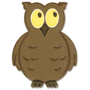 Sizzix - Originals Die - Die Cutting Template - Large - Owl