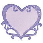 Sizzix - Originals Die - Die Cutting Template - Heart, Ornate by Brenda Pinnick