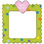 Sizzix - Bigz Die - Die Cutting Template - Frame with Heart, CLEARANCE