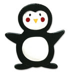 Sizzix - Bigz Die - Christmas Collection - Die Cutting Template - Animal Dress Ups - Penguin, CLEARANCE