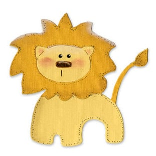 Sizzix - Originals Die - Die Cutting Template - Large - Circus Lion, CLEARANCE