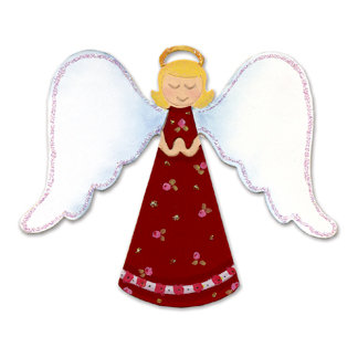 Sizzix - Originals Die - Die Cutting Template - Large - Angel 2