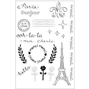 Sizzix - Clear Stamps - France