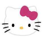 Sizzix - Originals Die - Hello Kitty Collection - Die Cutting Template - Large - Hello Kitty Face with Bow
