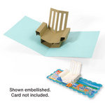 Sizzix - Bigz Die - Extra Long Die Cutting Template - 3-D Pop Up - Chair, Beach