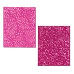 Sizzix - Textured Impressions - Embossing Folders - Floral Flourishes and Vines Set