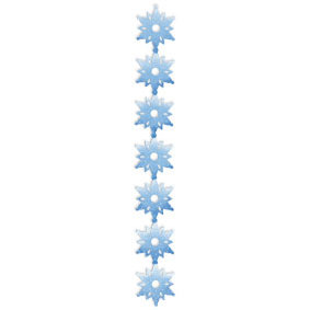 Sizzix - Sizzlits Decorative Strip Die - Christmas Collection - Die Cutting Template - Snowflakes