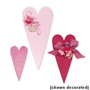 Sizzix - Bigz Die - Die Cutting Template - Primitive Hearts