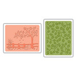 Sizzix - Textured Impressions - Embossing Folders - Fall Set