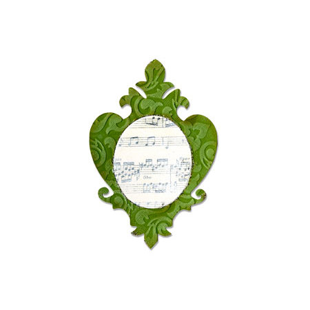 Sizzix - Bigz Die - Die Cutting Template - Frame, Ornate 3