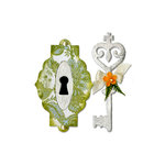Sizzix - Bigz Die - Key and Keyhole