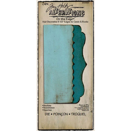 Sizzix - Tim Holtz - Alterations Collection - On the Edge Die - Brackets