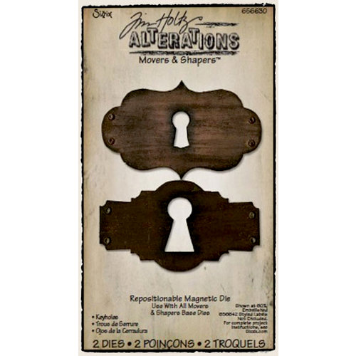 Sizzix - Tim Holtz - Alterations Collection - Movers and Shapers Die - Keyholes